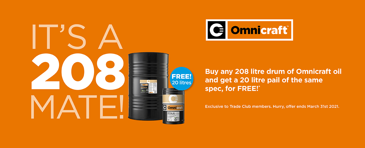 208 Mate Omnicraft Oil offer