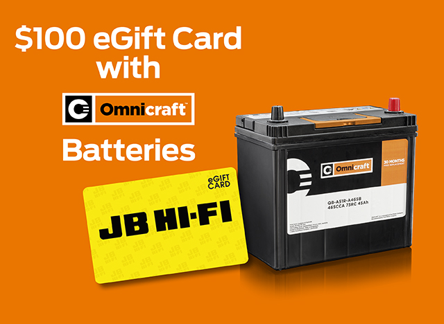 JB Hi-Fi Omnicraft Batteries offer