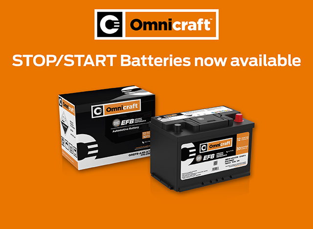 STOP/START Batteries now available